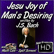 Jesu Joy of Man's Desring - written by J.S. Bach