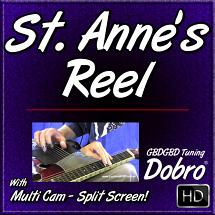 SAINT ANNE'S REEL - song for Dobro