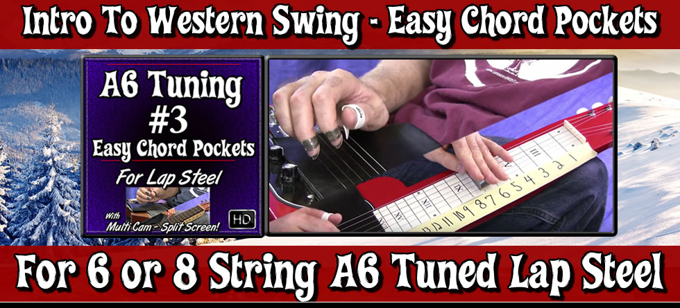 A6 Basics #3 - Easy Chord Pockets - Intro To Western Swing