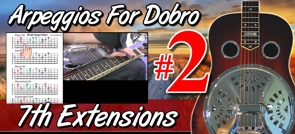 Arpeggios For Dobro Vol. 2