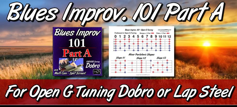 Blues Improv 101 Part A