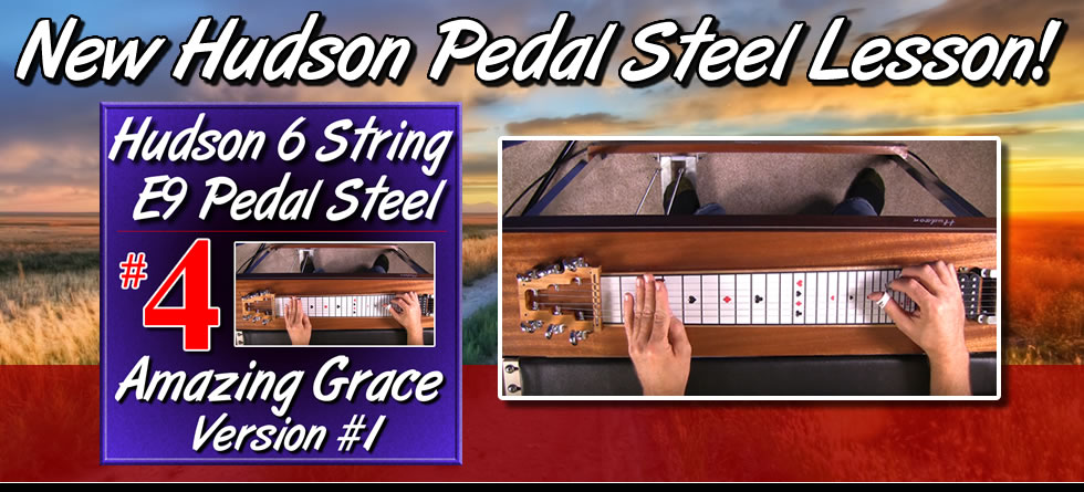 Amazing Grace Version 1 for Hudson Pedal Steel Guitar