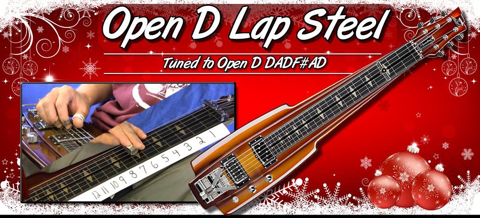 Open D Lap Steel