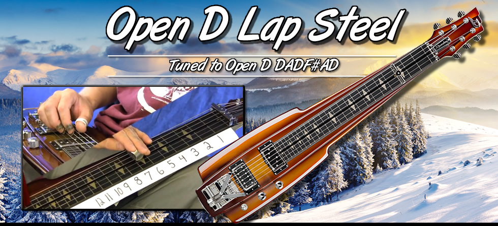 Open D Lap Steel Lessons