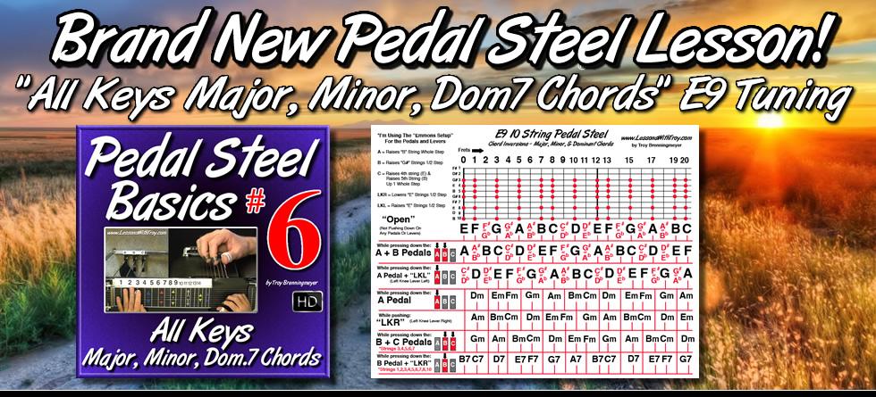 Pedal Steel Basics Volume #6