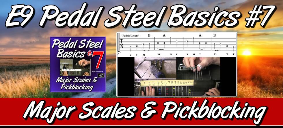 Pedal Steel Basics #7