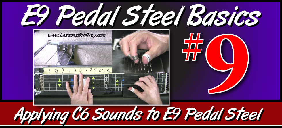 E9 Pedal Steel Basics - Vol. 9