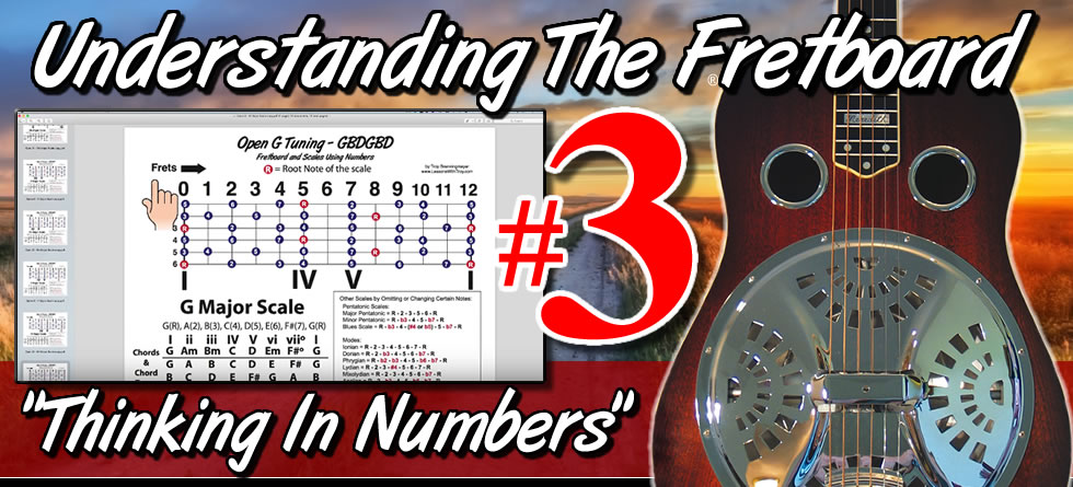 Understanding The Fretboard - Dobro - Vol. #3