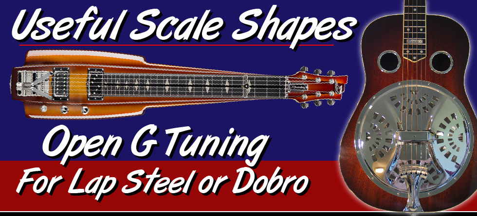 Useful Scale Shapes - Open G
