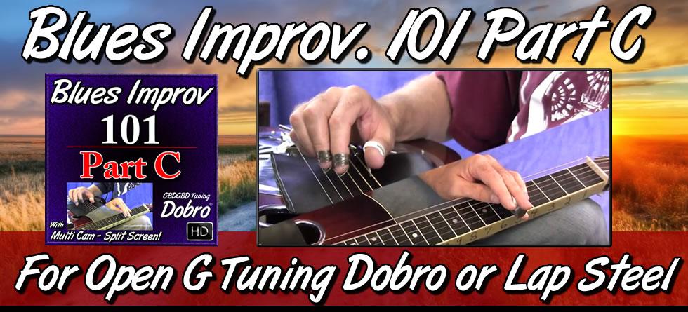 Blues Improv. 101 - Part C
